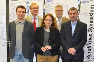 Pascal Michels, Anton Heithoff, Sabine Heinzel, Alfred Moers, Oliver Köhler